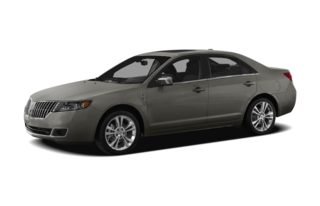 3/4 Front Glamour 2012 Lincoln MKZ