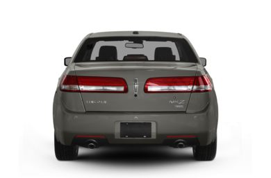 Rear Profile  2012 Lincoln MKZ