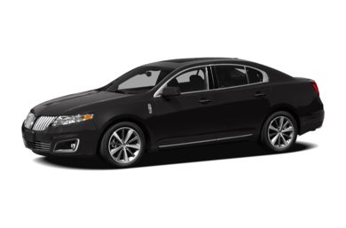 3/4 Front Glamour 2012 Lincoln MKS