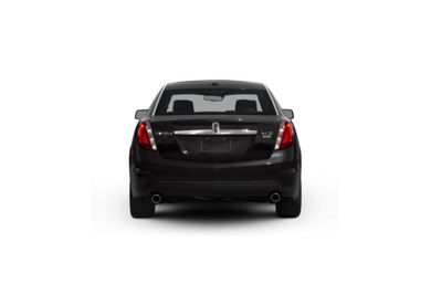 Surround Rear Profile 2012 Lincoln MKS