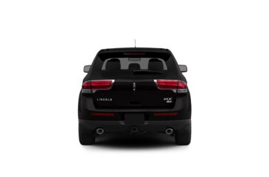 Surround Rear Profile 2012 Lincoln MKX