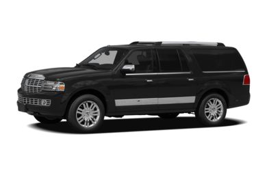 3/4 Front Glamour 2012 Lincoln Navigator L