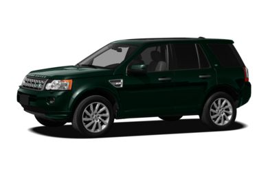 3/4 Front Glamour 2012 Land Rover LR2