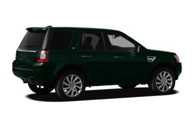 3/4 Rear Glamour  2012 Land Rover LR2
