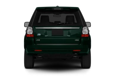 Rear Profile  2012 Land Rover LR2