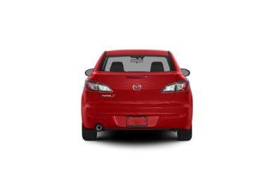 Surround Rear Profile 2012 Mazda Mazda3