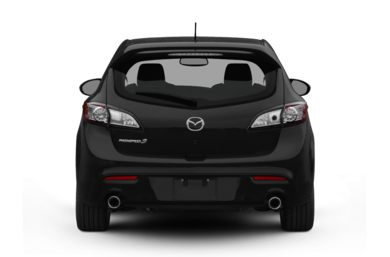 Rear Profile  2012 Mazda MAZDASPEED3