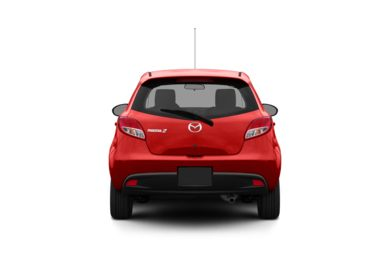 Surround Rear Profile 2012 Mazda Mazda2