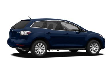 3/4 Rear Glamour  2012 Mazda CX-7