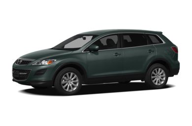 3/4 Front Glamour 2012 Mazda CX-9