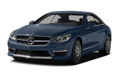 3/4 Front Glamour 2012 Mercedes-Benz CL65 AMG