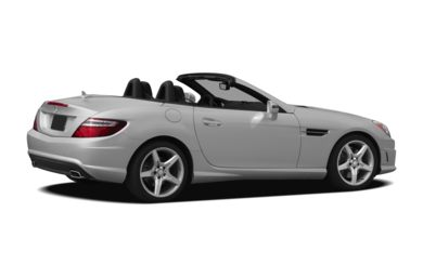 3/4 Rear Glamour  2012 Mercedes-Benz SLK350