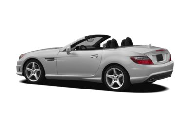 Surround 3/4 Rear - Drivers Side  2012 Mercedes-Benz SLK350