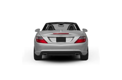 Surround Rear Profile 2012 Mercedes-Benz SLK350