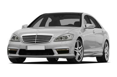 3/4 Front Glamour 2012 Mercedes-Benz S65 AMG