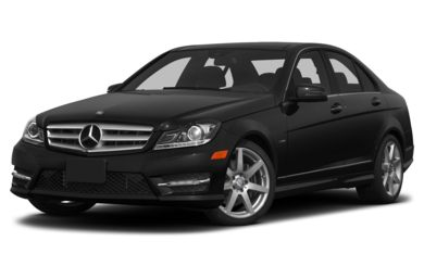 3/4 Front Glamour 2012 Mercedes-Benz C350
