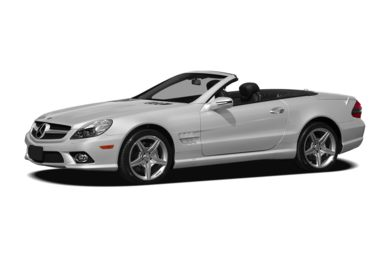 3/4 Front Glamour 2012 Mercedes-Benz SL550