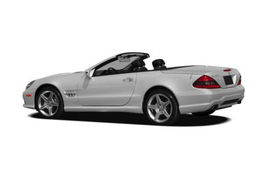Surround 3/4 Rear - Drivers Side  2012 Mercedes-Benz SL550