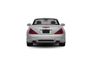 Surround Rear Profile 2012 Mercedes-Benz SL550
