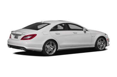 3/4 Rear Glamour  2012 Mercedes-Benz CLS63 AMG