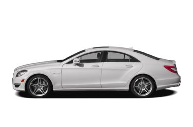 90 Degree Profile 2012 Mercedes-Benz CLS63 AMG