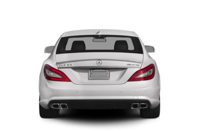 Rear Profile  2012 Mercedes-Benz CLS63 AMG