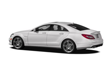 Surround 3/4 Rear - Drivers Side  2012 Mercedes-Benz CLS63 AMG