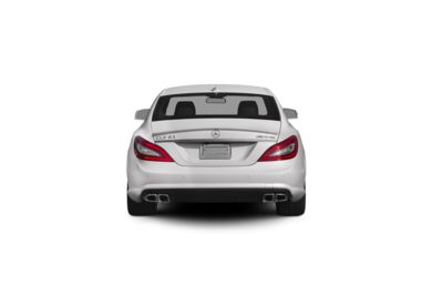 Surround Rear Profile 2012 Mercedes-Benz CLS63 AMG