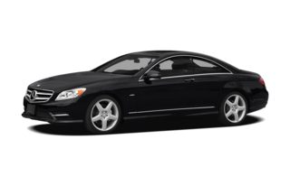 3/4 Front Glamour 2012 Mercedes-Benz CL550