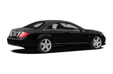 3/4 Rear Glamour  2012 Mercedes-Benz CL550