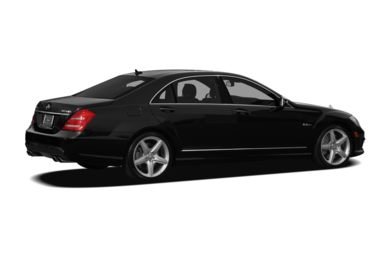 3/4 Rear Glamour  2012 Mercedes-Benz S63 AMG
