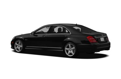 Surround 3/4 Rear - Drivers Side  2012 Mercedes-Benz S63 AMG