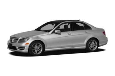 3/4 Front Glamour 2012 Mercedes-Benz C300