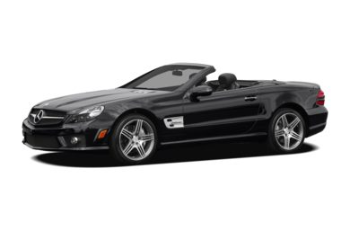 3/4 Front Glamour 2012 Mercedes-Benz SL63 AMG