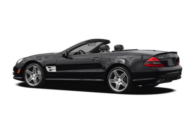 Surround 3/4 Rear - Drivers Side  2012 Mercedes-Benz SL63 AMG