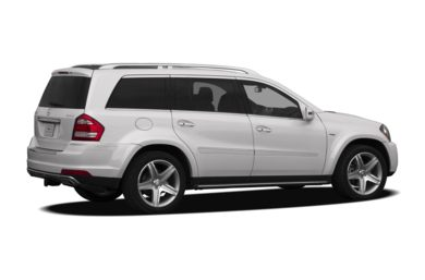 3/4 Rear Glamour  2012 Mercedes-Benz GL550