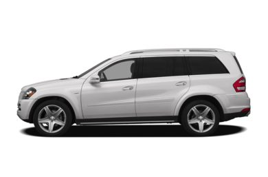 90 Degree Profile 2012 Mercedes-Benz GL550