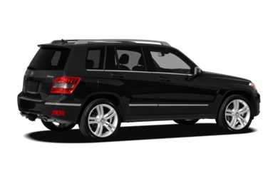 3/4 Rear Glamour  2012 Mercedes-Benz GLK350