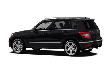 Surround 3/4 Rear - Drivers Side  2012 Mercedes-Benz GLK350