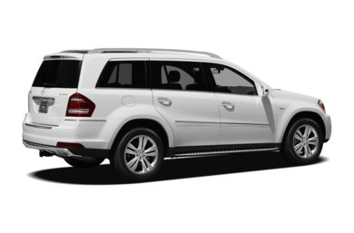 3/4 Rear Glamour  2012 Mercedes-Benz GL350 BlueTEC