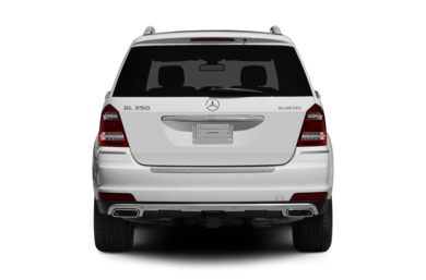 Rear Profile  2012 Mercedes-Benz GL350 BlueTEC