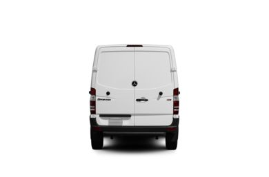 Surround Rear Profile 2012 Mercedes-Benz Sprinter