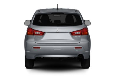 Rear Profile  2012 Mitsubishi Outlander Sport
