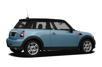3/4 Rear Glamour  2012 MINI Hardtop