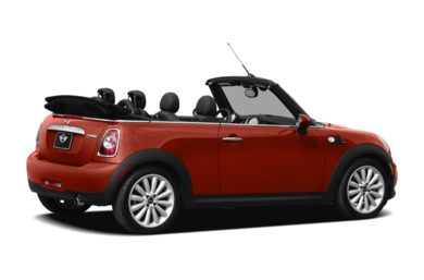 3/4 Rear Glamour  2012 MINI Convertible