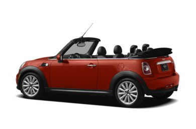 Surround 3/4 Rear - Drivers Side  2012 MINI Convertible