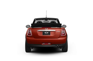 Surround Rear Profile 2012 MINI Convertible