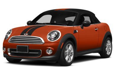 3/4 Front Glamour 2014 MINI Coupe