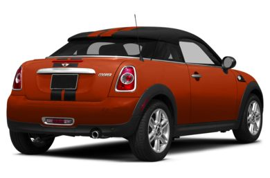 3/4 Rear Glamour  2015 MINI Coupe