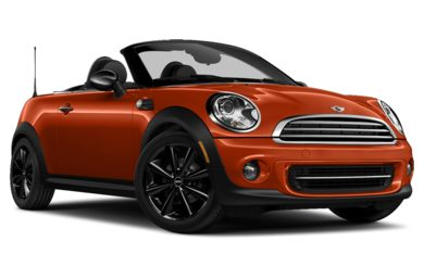 3/4 Front Glamour 2012 MINI Roadster